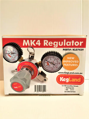 Type 30 - MK4 Regulator (6.5bar PRV & 100psi Gauge)