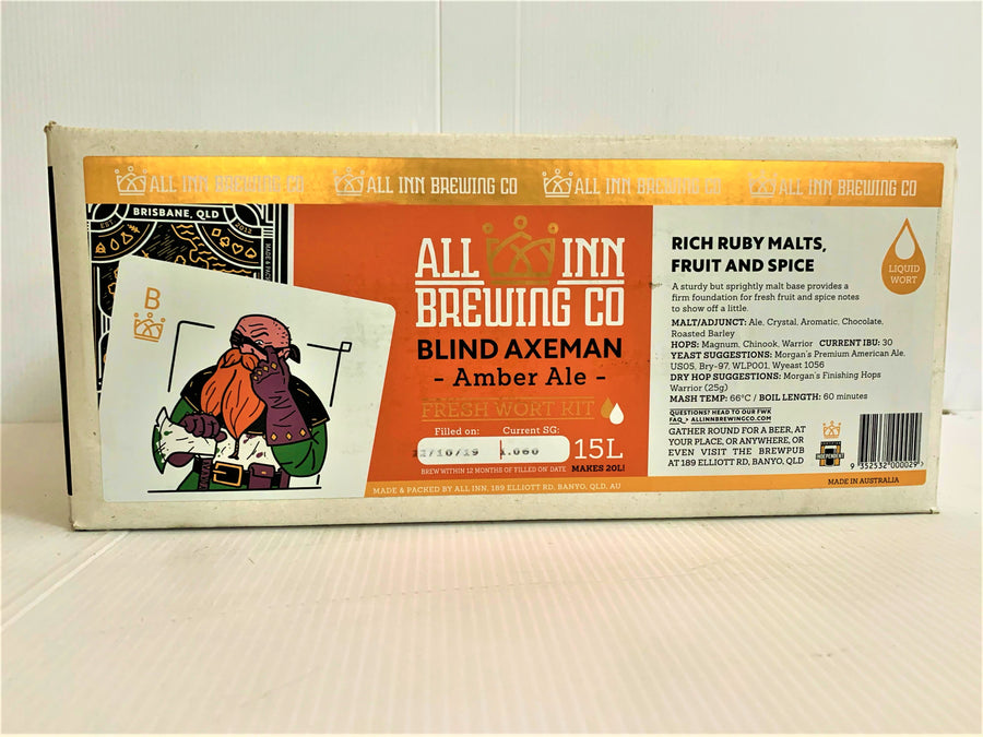 All Inn Brewing - Blind Axeman Amber Ale