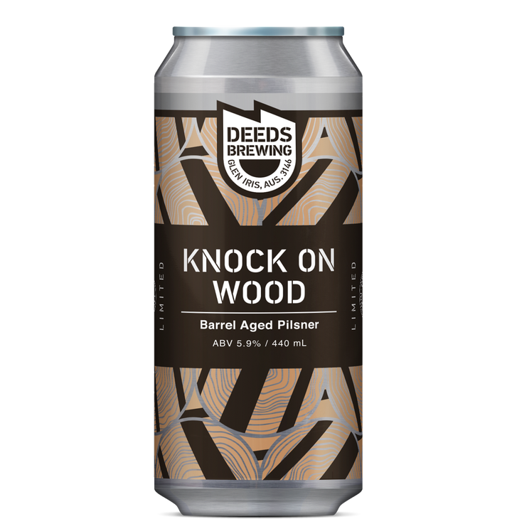 Deeds - Knock On Wood - 440ml Can