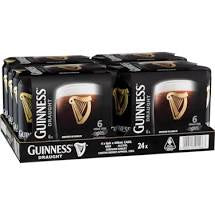 Guinness Draught Stout Can 440ml Carton