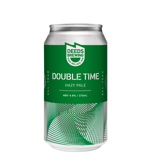 Deeds -Double Time Hazy Pale - 375ml Can
