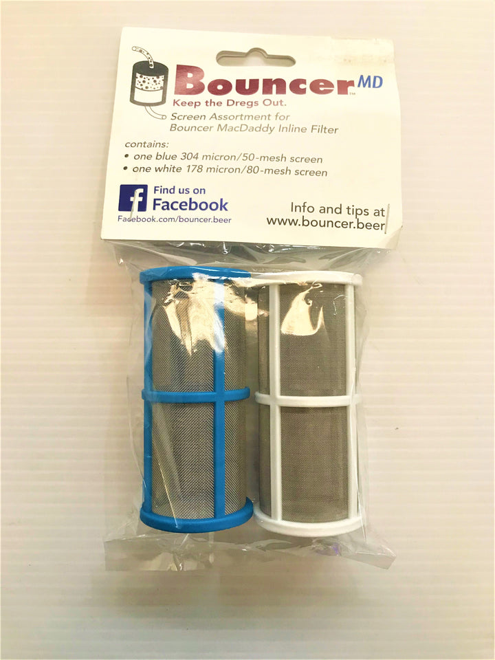 50 & 80 Mesh Filter Screen Two Pack - Bouncer Mac Daddy