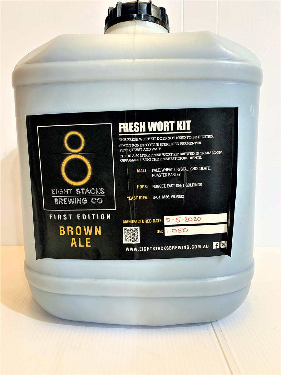 Eight Stacks - Brown Ale - Fresh Wort Kit