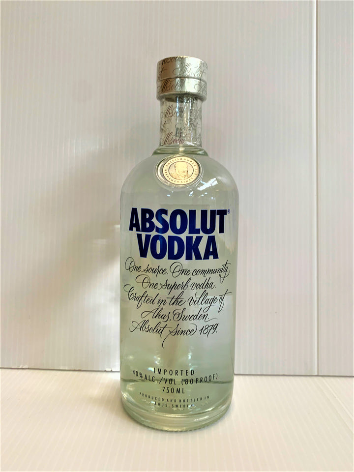 Absolut Vodka (Imported) 750mL