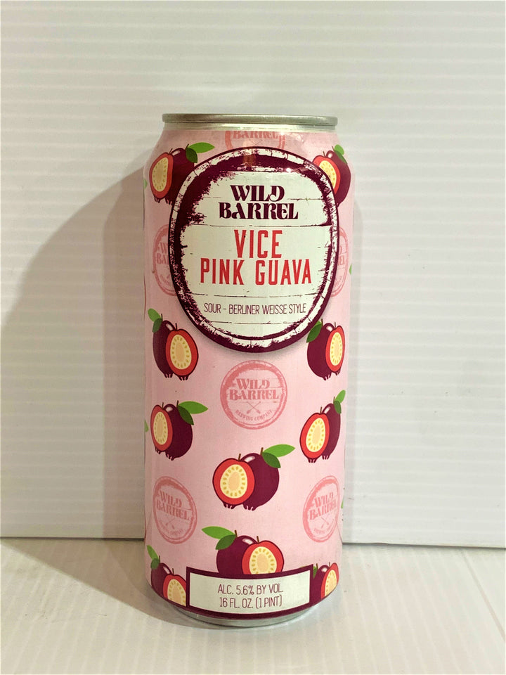 Wild Barrel Brewing - Vice Sour Pink Guava 473ml Can - Single