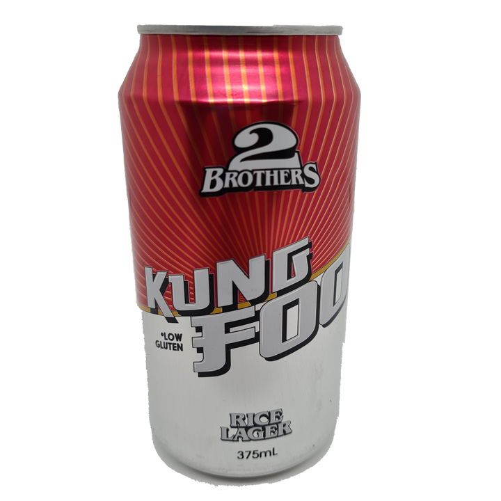 2 Brothers - Kung Foo Rice Lager 375ml Can