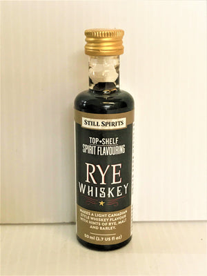Still Spirits Top Shelf - Rye Whiskey