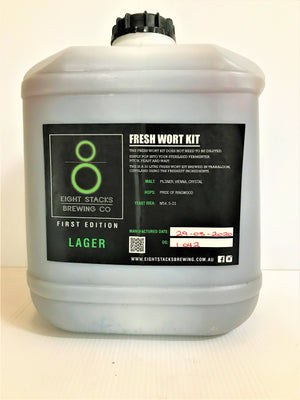 Eight Stacks - Lager  - Fresh Wort Kit