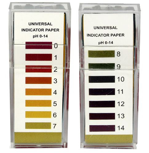 100 Strip PH 0 - 14 Test Kit