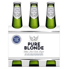 Pure Blonde - Blonde Ultra 355ml Bottle - 6 Pack