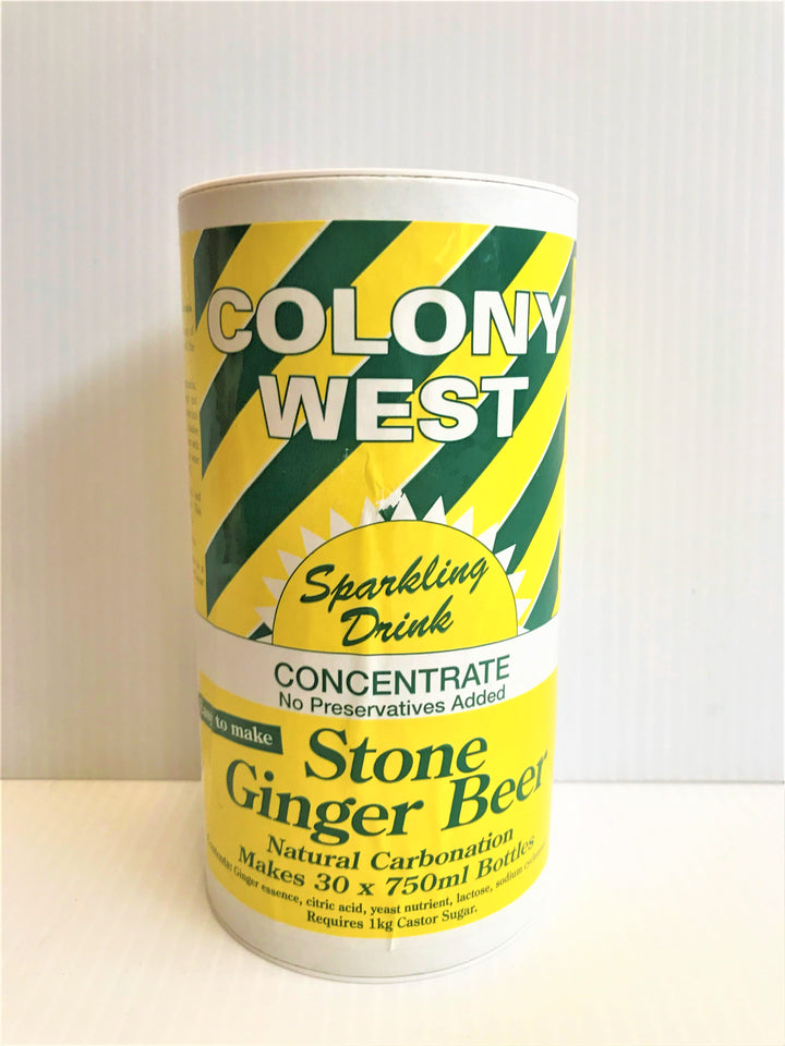 Colony West - Natural Carbonation - Stone Ginger Beer