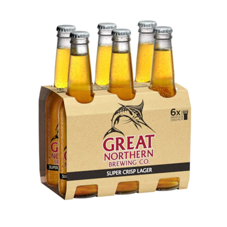 Great Northern - Super Crisp 330ml Stubbies  - 6 Pack