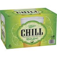 Miller Chill with Lime Lager 330ml Case