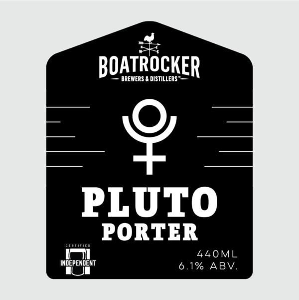 Boatrocker - Pluto Porter - 440ml Can