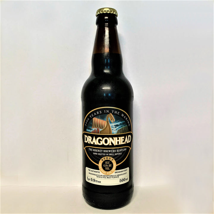 Orkney Brewery - Dragonhead Stout - 500ml Bottle