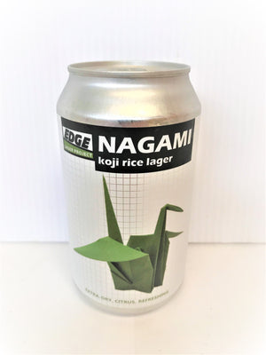 Edge - Nagami Koji Rice Lager 355ml Can - Single
