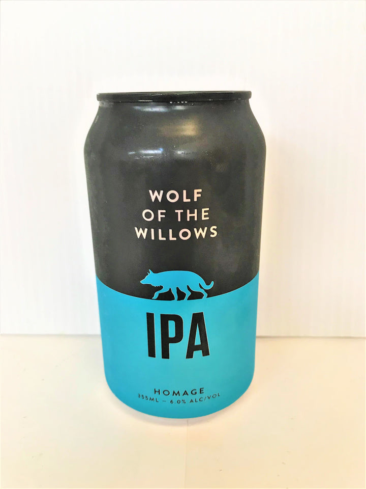 Wolf of the Willows - Homage IPA 355ml Can - Single