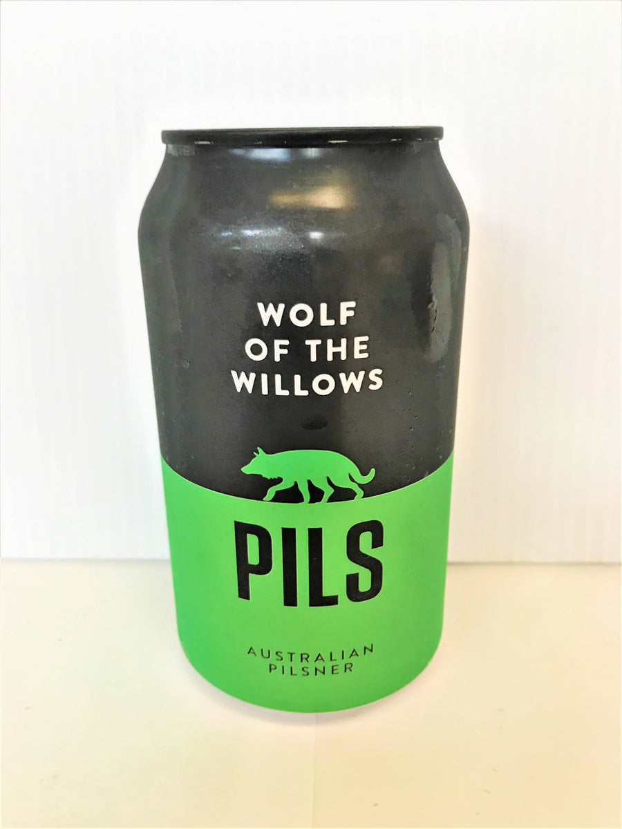 Wolf Of The Willows - Pilsner 355ml Can - Single