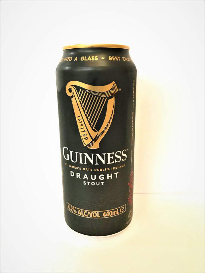 Guinness - Draught Stout 440ml Can - Single