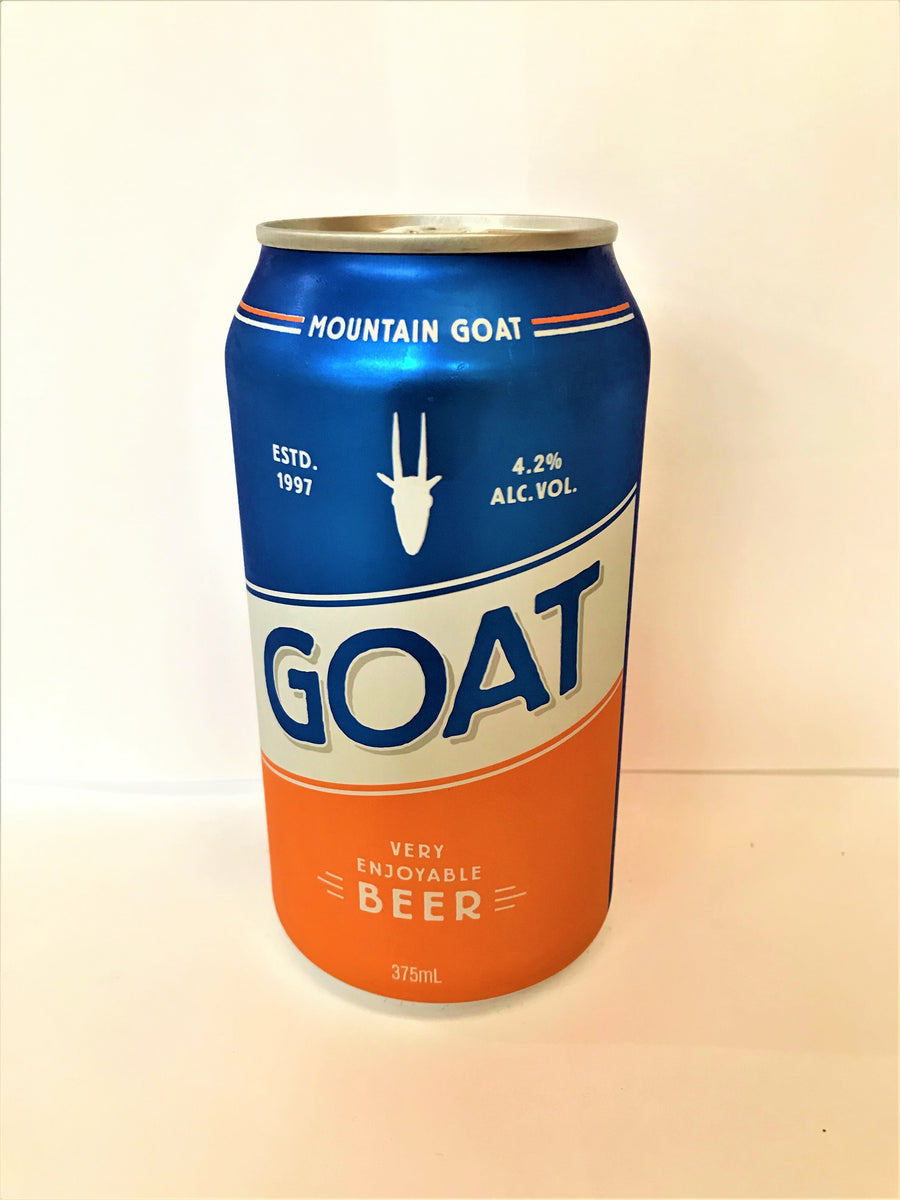 Mountain Goat Lager - Very Enjoyable Beer Cans 375ml Single