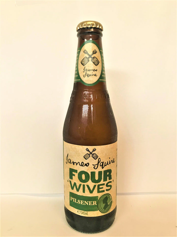 James Squire - Four Wives Pilsner 345ml Bottle - Single