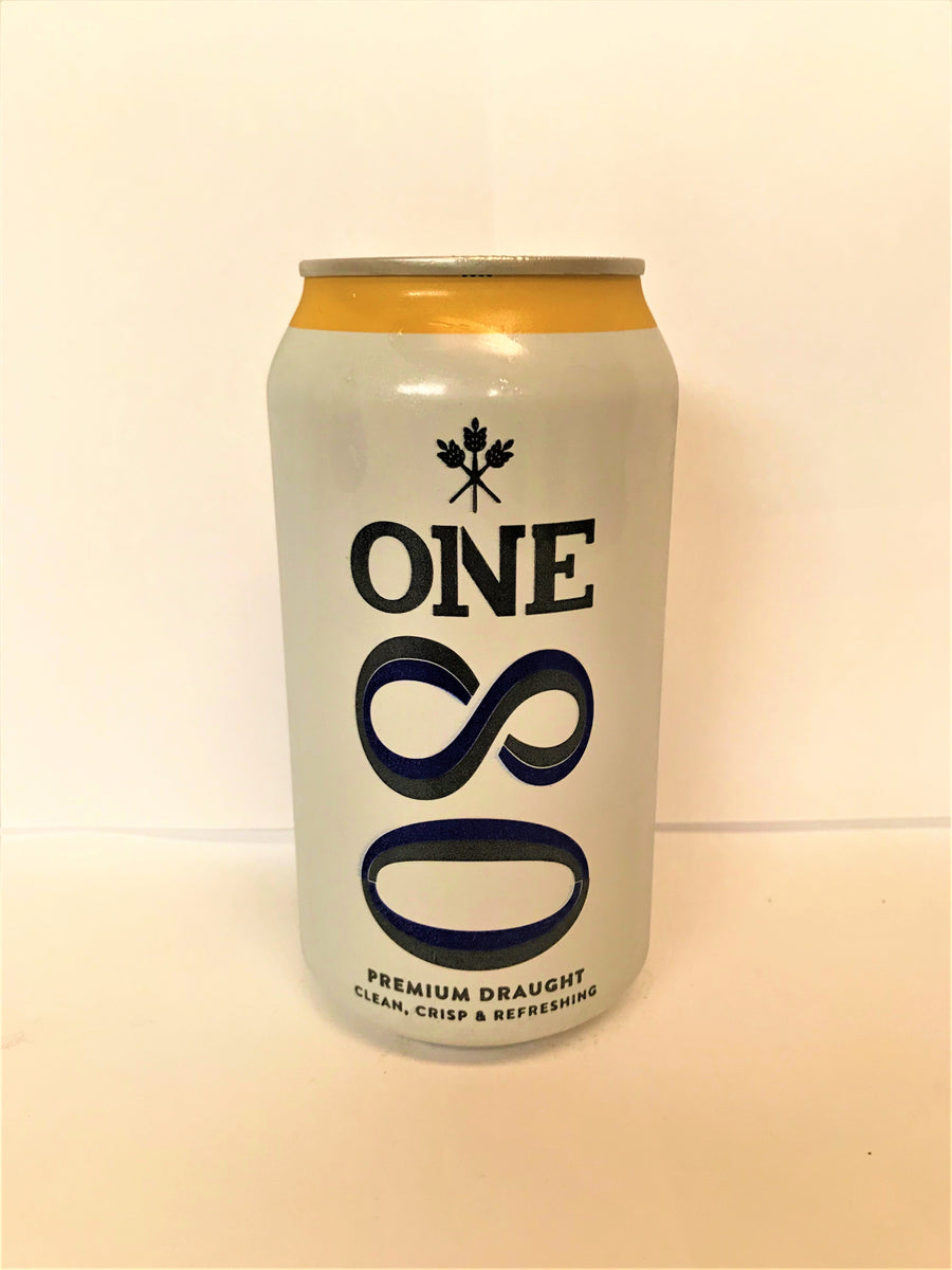 One 80 - Premium Draught 375ml Can - Single