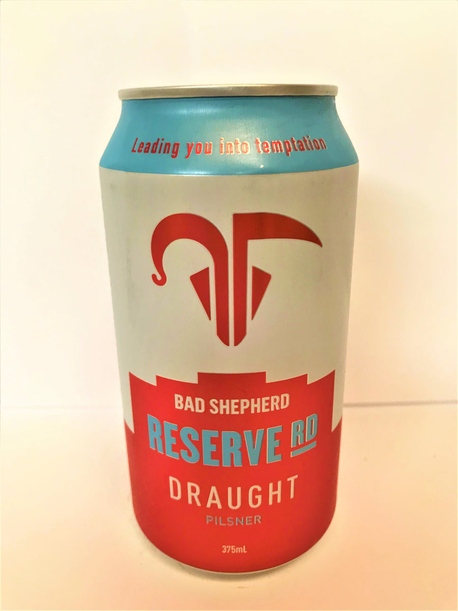 Bad Shepherd - Reserve Road Draught 375ml Can - Single