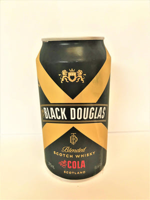 Black Douglas - Scotch & Cola 375ml Cans - Single