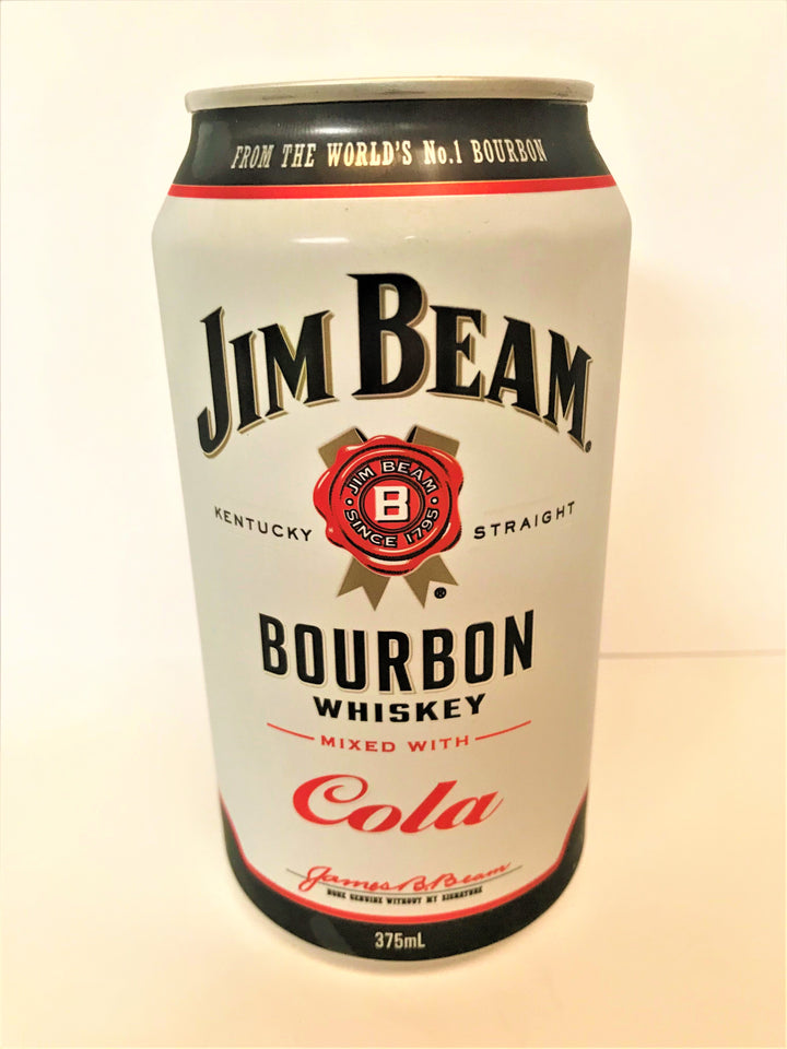 Jim Beam White Label - Bourbon & Cola 375ml Can - Single