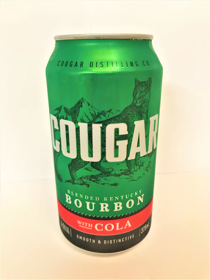Cougar - Bourbon & Cola 375ml Can - Single