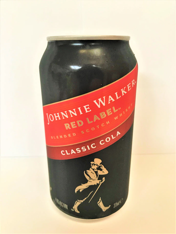 Johnnie Walker Red Label - Whiskey & Cola 375mL Can - Single