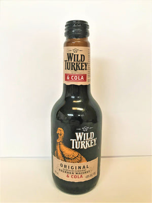 Wild Turkey - Bourbon & Cola Original 340ml Stubbie - Single