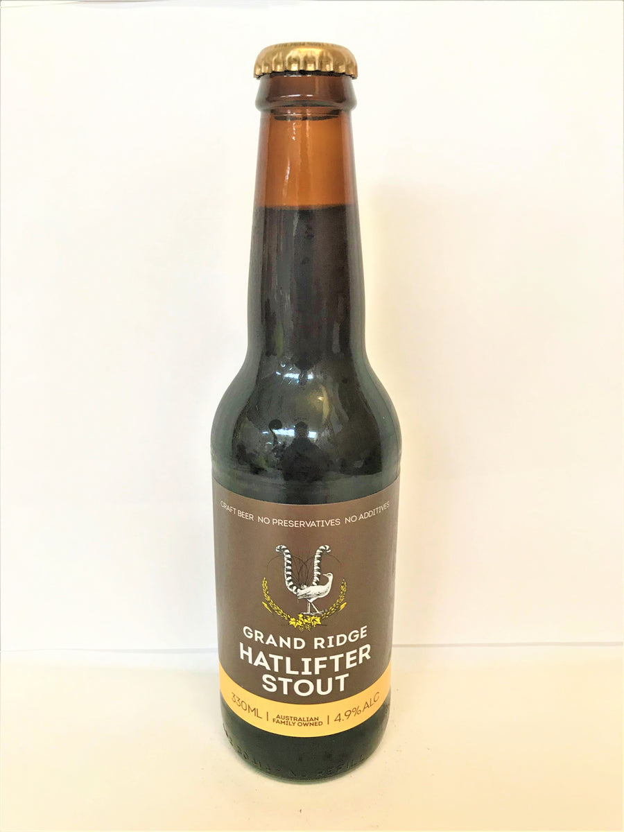 Grand Ridge - Hatlifter Stout 330mL Bottle - Single