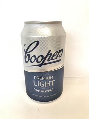 Coopers - Premium Light 355ml Can - Single