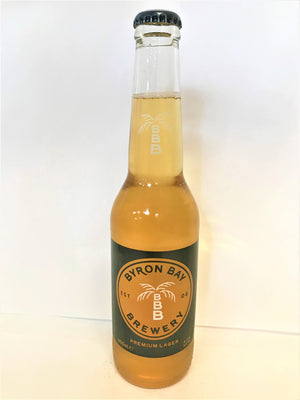 Byron Bay Brewing - Premium Lager 355mL Bottles - Single