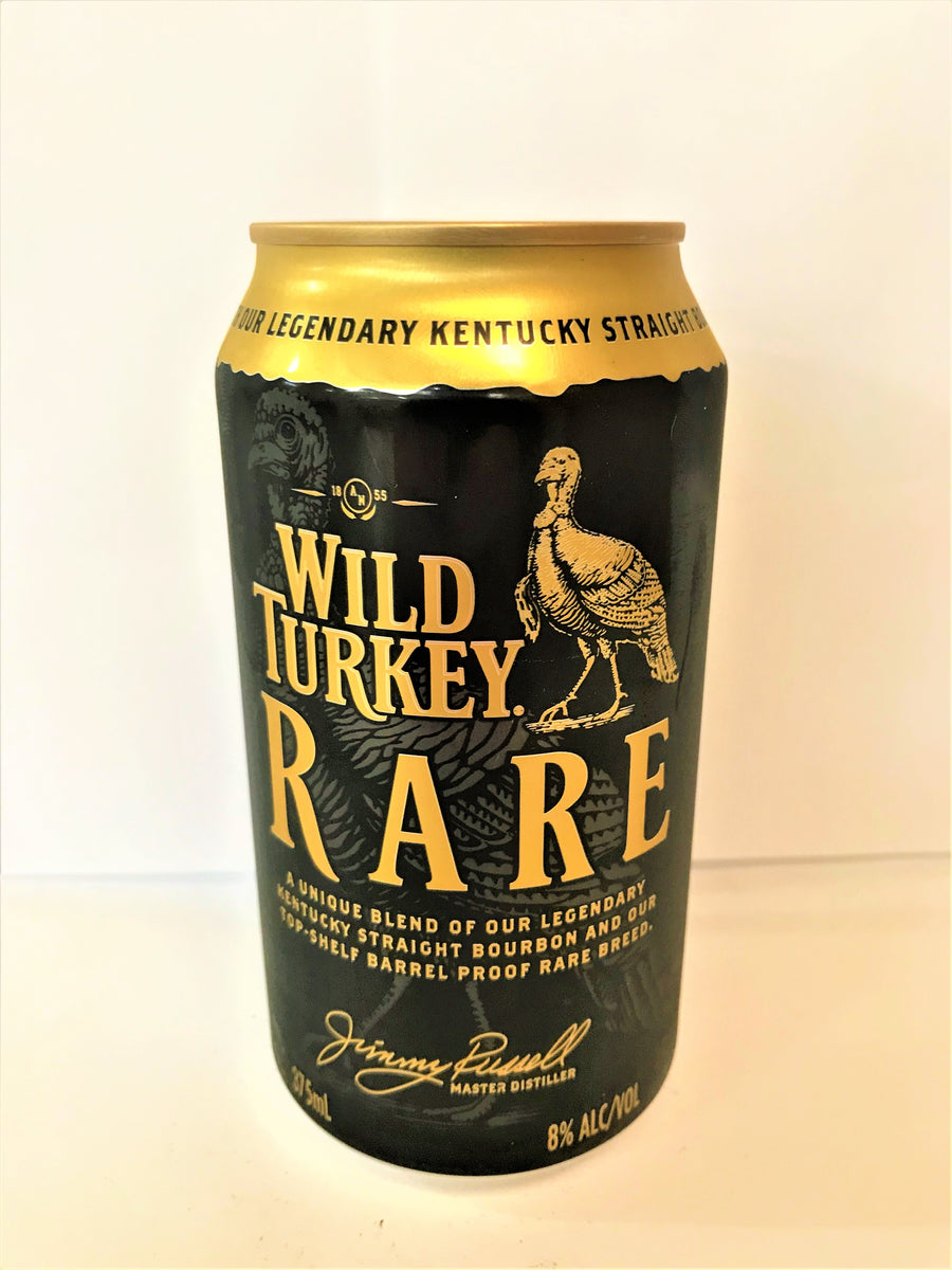 Wild Turkey - Rare Bourbon & Cola 375ml Can - Single