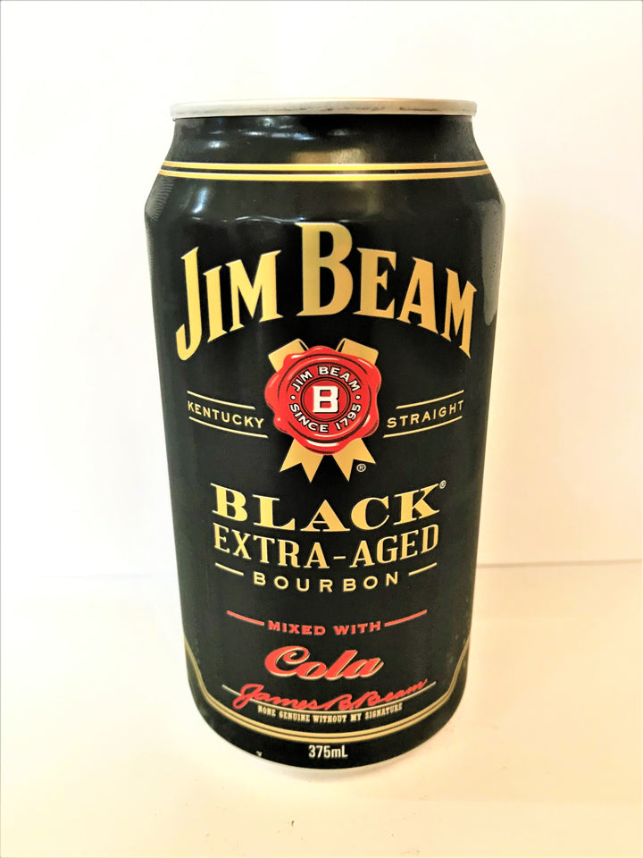 Jim Beam - Black Extra-Aged 375ml Can - Single