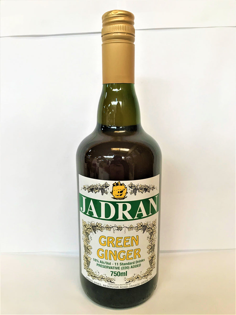 Jadran - Green Ginger 750ml Bottle