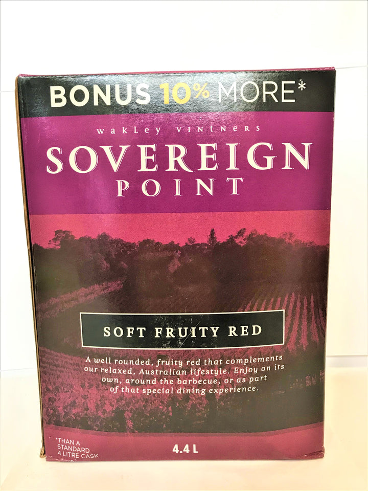 Sovereign Point - Soft Fruity Red 4.4L Cask