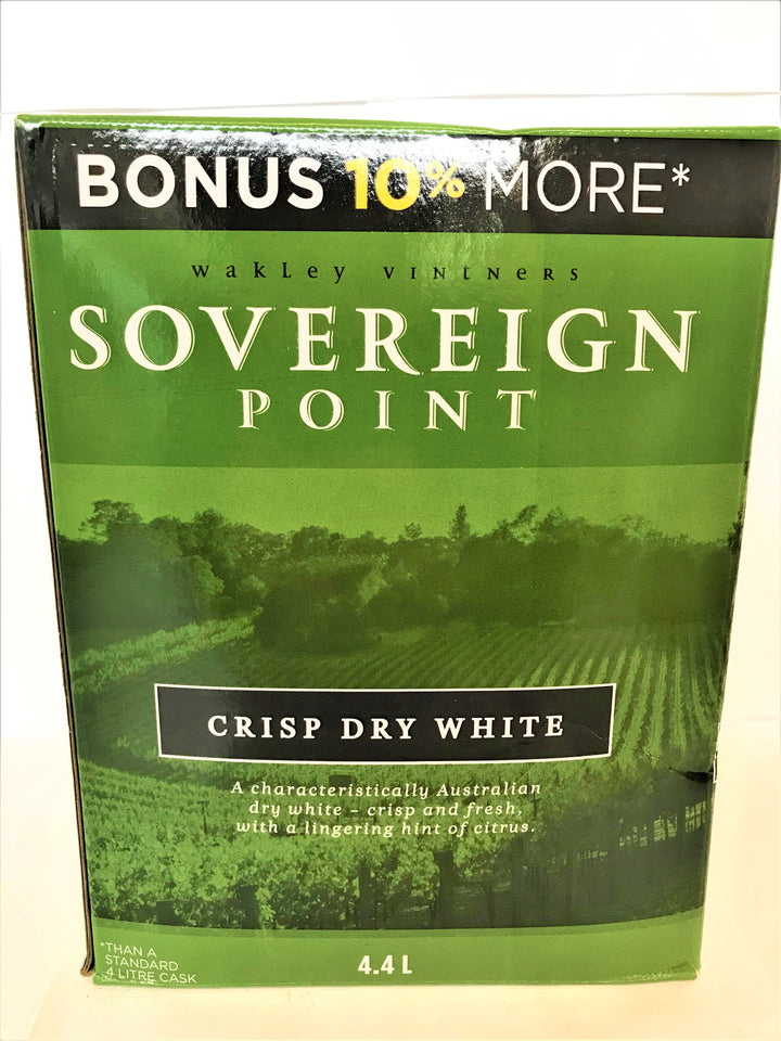 Sovereign Point - Crisp Dry White 4.4L Cask