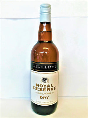 McWilliams - Royal Reserve Dry Sherry 750ml Bottle