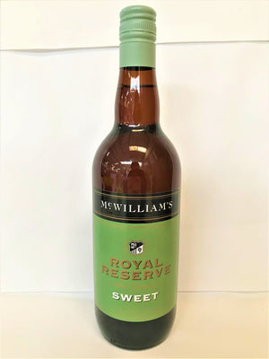 McWilliams - Royal Reserve Sweet Sherry 750ml Bottle