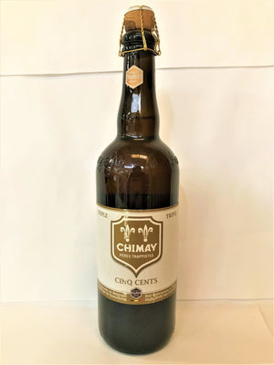 Chimay - Tripel Ale (White) Bottle 750ml