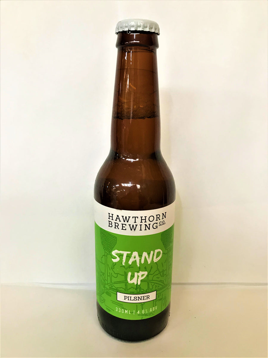Hawthorn Brewing Co - Stand Up Pilsner - 330ml Stubbie - Single