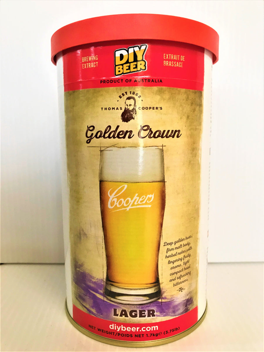 Coopers DIY - Golden Crown Lager 1.7kg