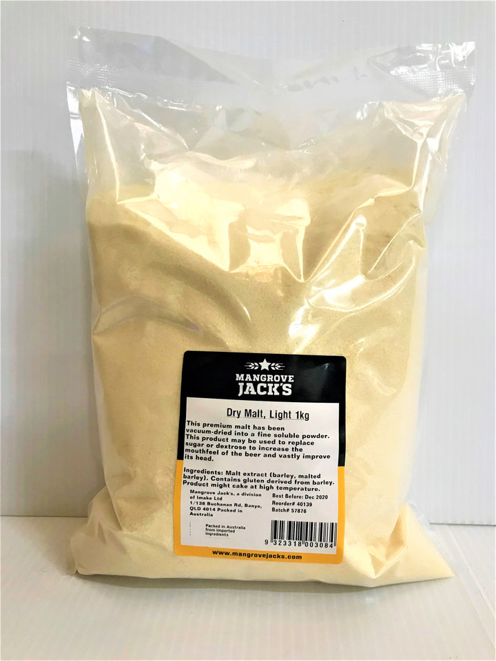 Mangrove Jack's - Light Unhopped Dry Malt 1kg