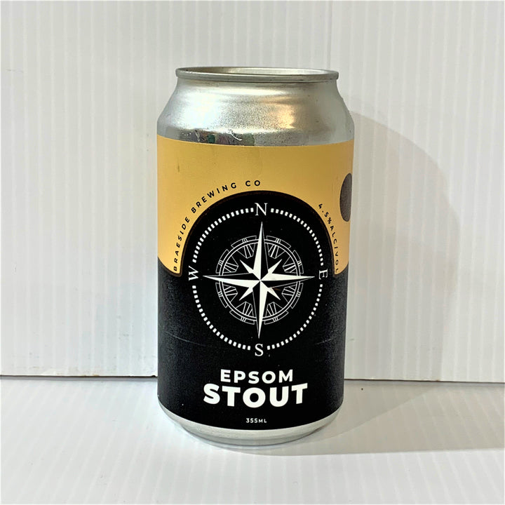 Braeside Brewing - Epsom Stout 335ml Can - Single