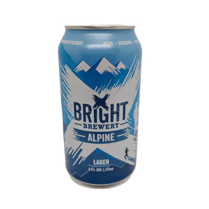 Bright Brewery - Alpine Lager - 375ml Can