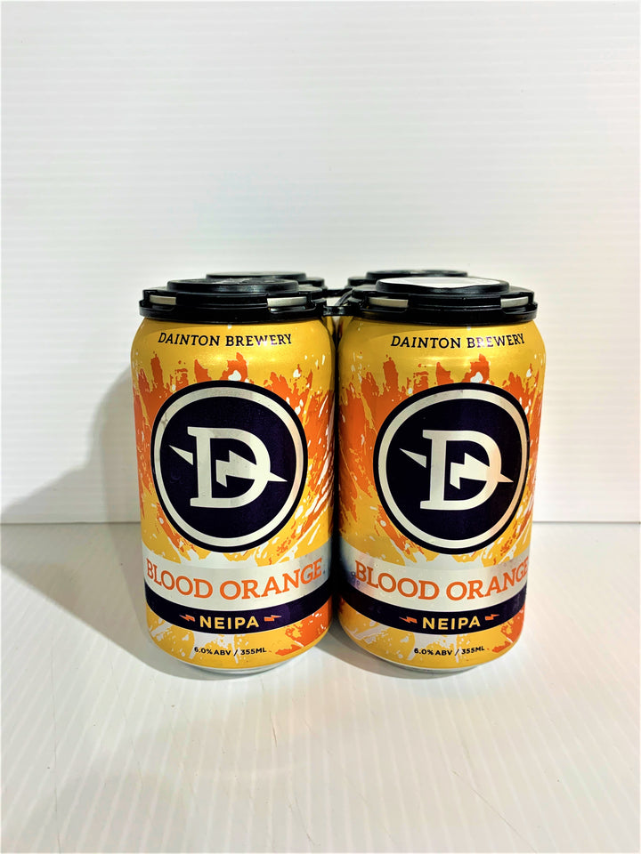 Dainton - Blood Orange NEIPA 355ml Can - 4 Pack