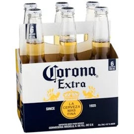 Corona - Extra 355ml Bottle - 6 Pack